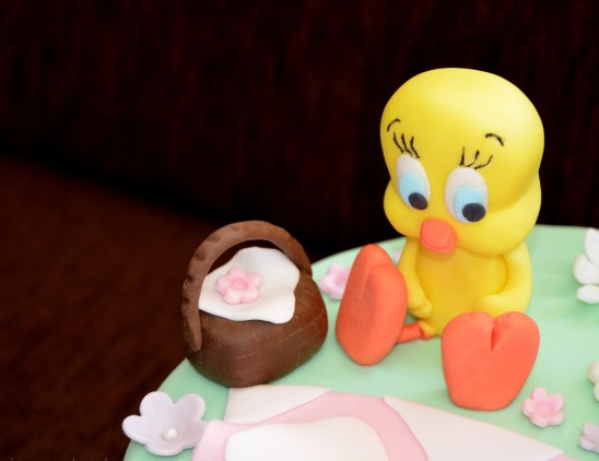 give and cake tweety