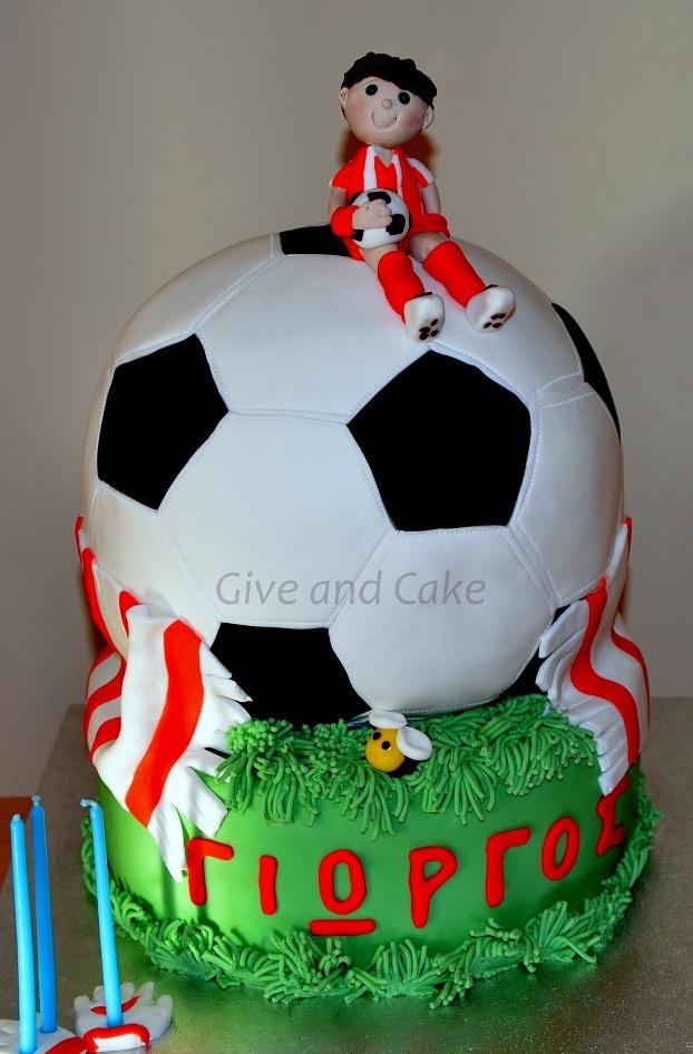 football giveandcake